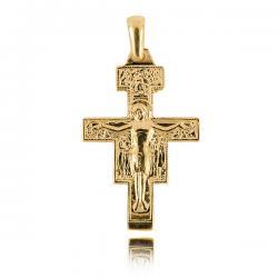 Krzyżyk Żółte Złoto Pr....