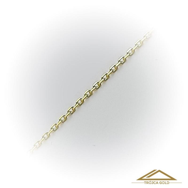 Łańcuszek Ankier, cienki, klasyczny, 45 cm.