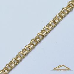 Garibaldi Złoty Łańcuszek 45cm